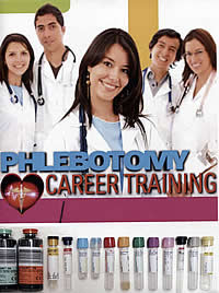 Phlebotomy Career Training, study guide manual